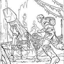 Lukes Raumschiff auf Dagobah