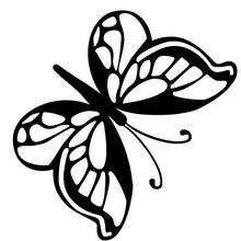 Kleiner Schmetterling zum Ausmalen