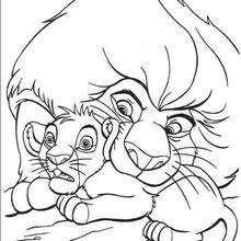 Mufasa und Simba