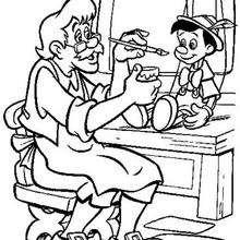 Geppettos Puppe