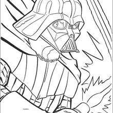Portrait von Darth Vader
