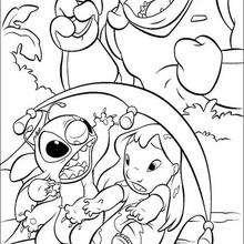 Lilo, Stitch und Kapitän Gantu