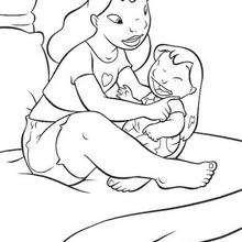 Lilo mit ihrer Mama