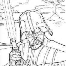 Darth Vader im Kampf