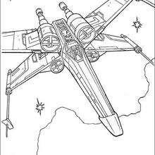 X-Flügel Kampfjet von Luke Skywalker