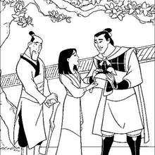 Mulan, Li Shang und Fa Zhou
