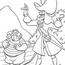 Captain Hook und Smee