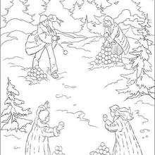 Schneeballschlacht in Narnia