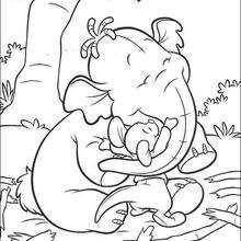 Klein-Ruth umarmt Lumpy