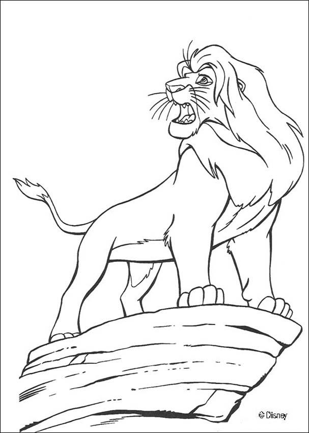 Der König Der Löwen Zum Ausmalen Ausmalbilder Ausmalbilder