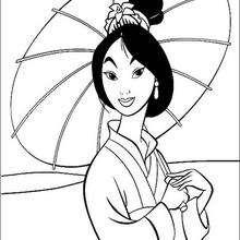 Schöne Fa Mulan