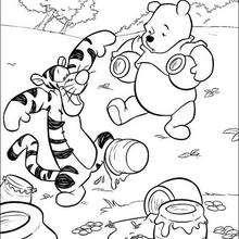 Pu, Tiger und ein Honigtopf