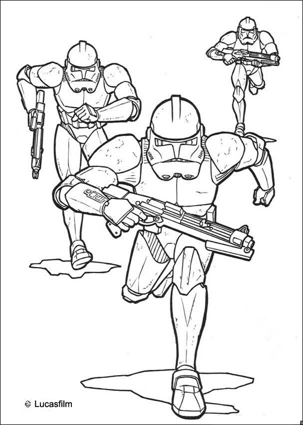 Star Wars General Grievous Coloring Pages