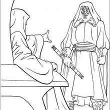 Darth Maul und der Imperator