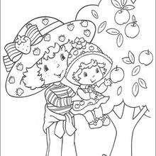 Strawberry Shortcake und ihre kleine Schwester Apple Dumplin