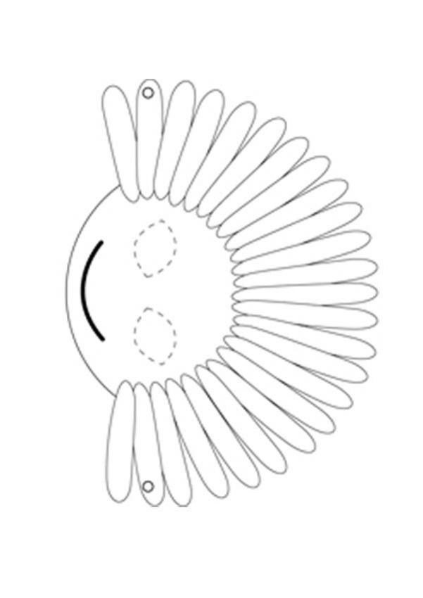 Margerittenmaske