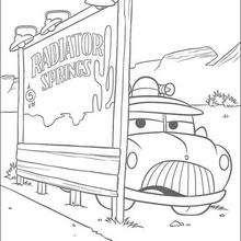 Cars: Sheriff car