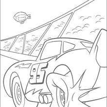 Cars: Mc Queen auf der Rennbahn