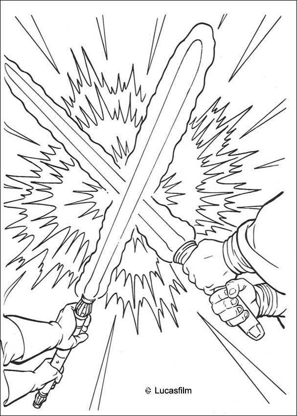 Laserschwertduell