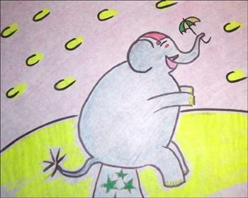 Wie man einen Elefant malt