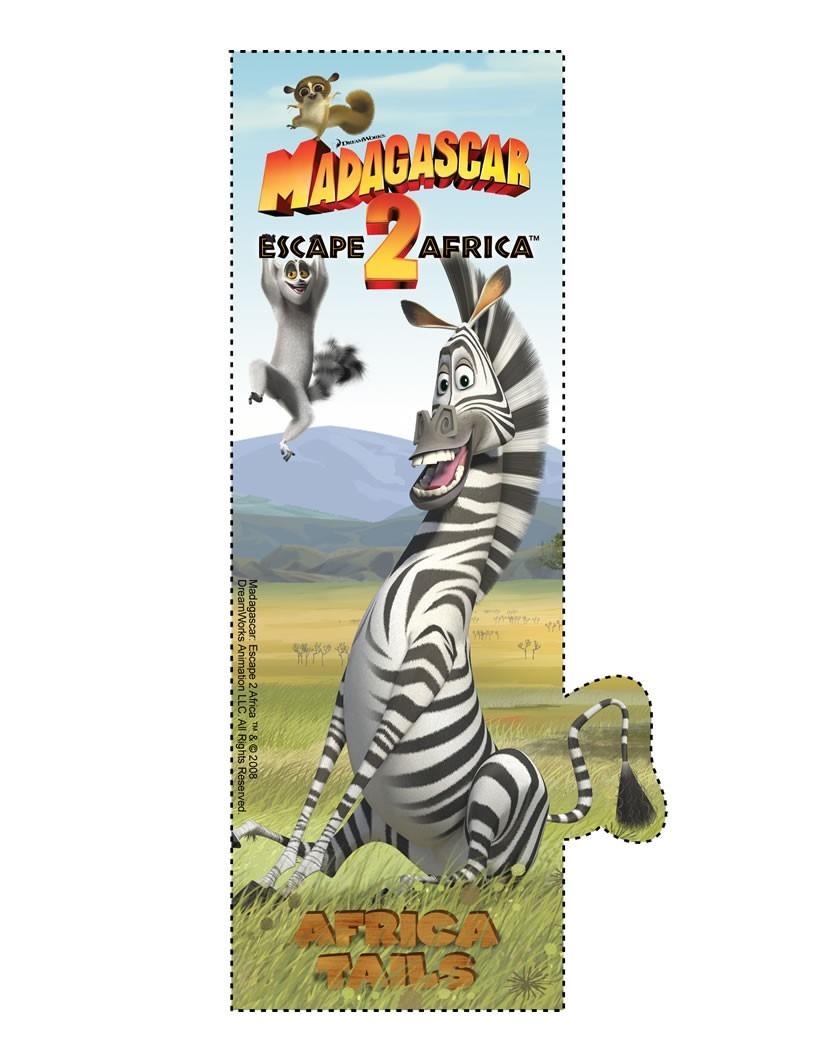 Marty aus Madagascar Lesezeichen