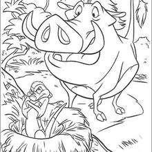 Timon ist Pumbaa böse