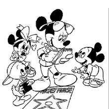 Micky Maus auf dem Hollywood Boulevard