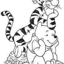 Pu und sein Freund Tiger