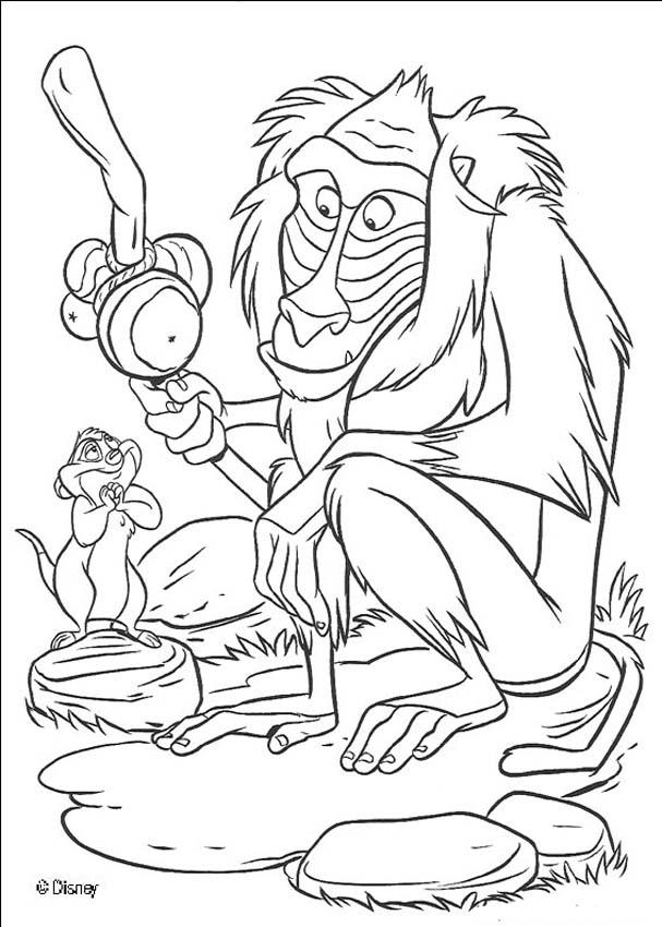 Otter Coloring Page