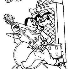 Goofy Goof spielt Gitarre