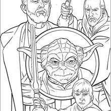Jediritter und Yoda