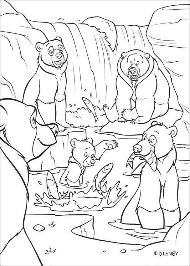 Bärenbrüder Zum Ausmalen Ausmalbilder Ausmalbilder Ausdrucken