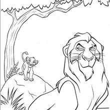 Simba und Mufasa