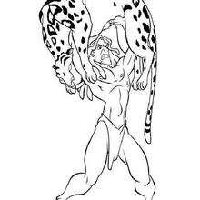 Tarzan und der Tiger