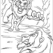 Mufasa duelliert mit Scar