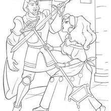 Esmeralda und Phoebus 2