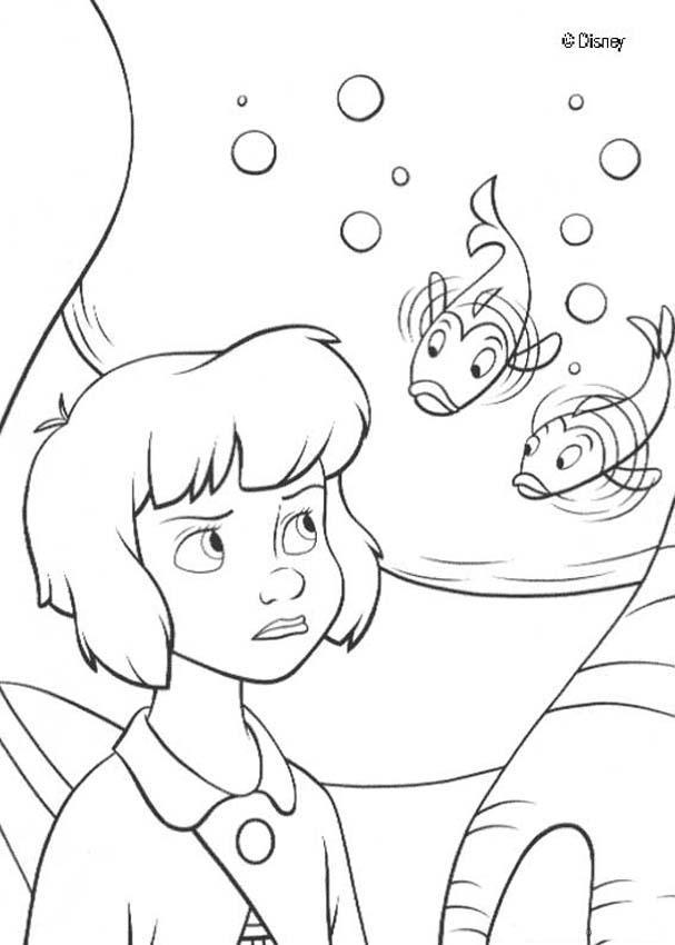 Wendy Und Fische Zum Ausmalen De Hellokids Com
