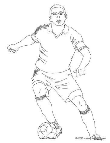Fussball Zum Ausmalen Ausmalbilder Ausmalbilder Ausdrucken De