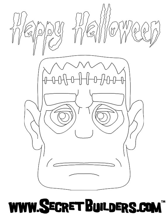 Frankenstein zum ausmalen zum ausmalen - de.hellokids.com