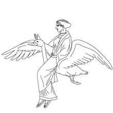 APHRODITE griechische Göttin der Liebe zum Ausmalen