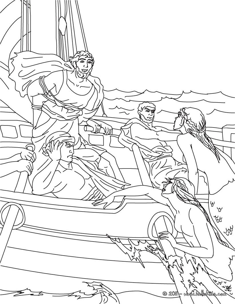 Die suche des odysseus zum ausmalen zum ausmalen de for Odysseus coloring pages
