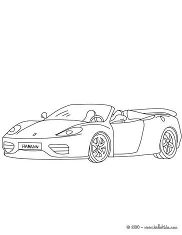 Ferrari 360 Spider Zum Ausmalen Zum Ausmalen Dehellokidscom