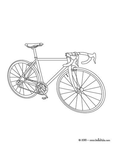 Rennrad zum ausmalen zum ausmalen for Scha ne bilder zum ausdrucken
