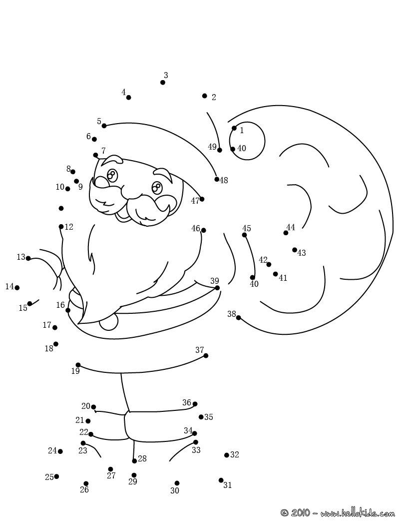 Schön Verbinde Die Punkte Malvorlagen Weihnachten Fotos ...