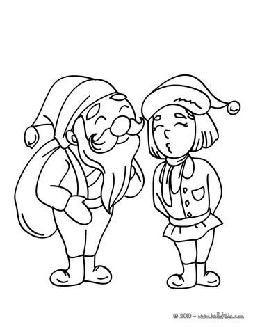 Weihnachtswichtel Zum Ausmalen Ausmalbilder Ausmalbilder