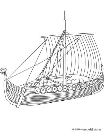 Motorboot malvorlage  Wikingerschiff von der seite zum ausmalen zum ausmalen - de ...