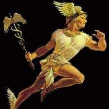 HERMES griechischer Gott der Herden Puzzle