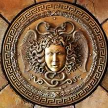 MEDUSA die Gorgone mit Schlangenhaar Puzzle