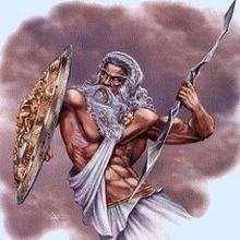 ZEUS griechischer König der Götter Kinderpuzzle