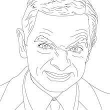 Mr Bean Zum Ausmalen Zum Ausmalen De Hellokids Com